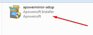 Instal ApowerMirror di Laptop - 1