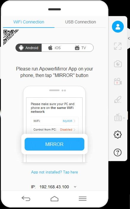 Instal ApowerMirror di Android - 7