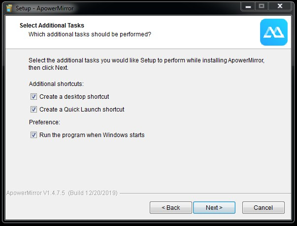 Instal ApowerMirror di Laptop - 6
