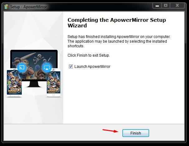 Instal ApowerMirror di Laptop - 9