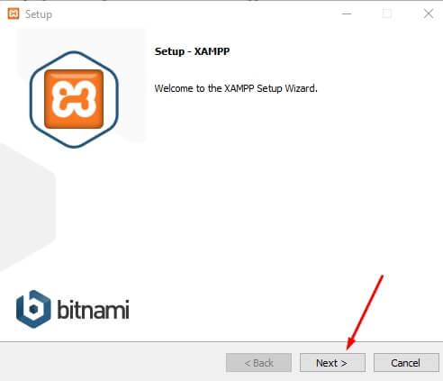 install xampp 2