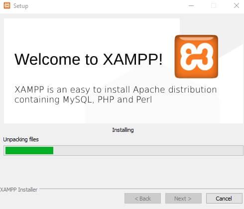 install xampp 8